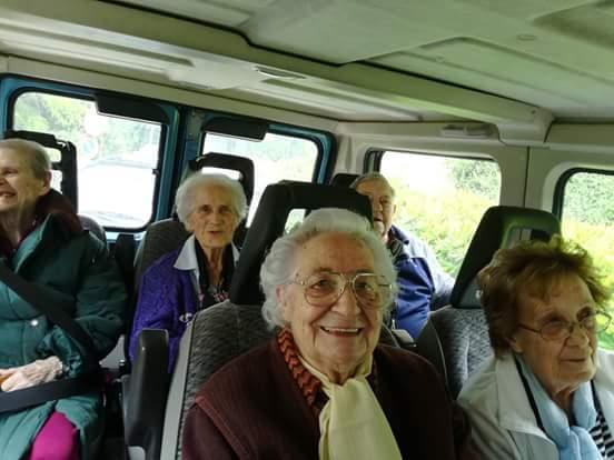 Pellegrinaggio degli ospiti della Fondazione Ceci a Loreto il 17 Maggio 2018