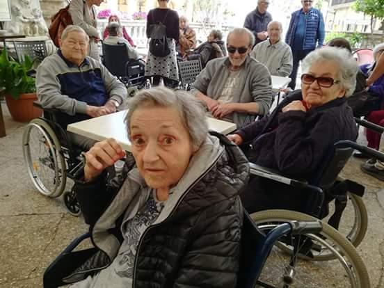 Pellegrinaggio degli ospiti della Fondazione Ceci a Loreto il 17 Maggio 2018.